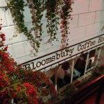 Bloomsbury Coffee House on a crisp autumn evening.