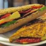 Farmhouse Cheddar and Chorizo sandwich