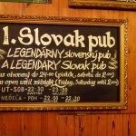 Photo de Slovak Pub
