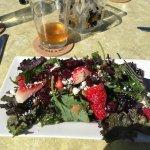 Berry Kale Salad
