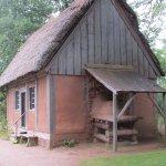 Reconstructed indiginous house