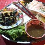 Vietnam BBQ wrap