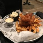 English Fish and Chips ($13.95).