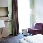 Twin bed room Comfort Hotel Trondheim