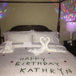 Monarch Oceanfront--birthday surprise in room