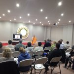 More lectures on Buddhism at the local temple in Stockport