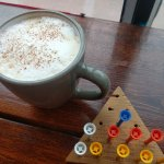 puzzles and honey latte