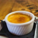 House made creme brulee - Served with that perfect crust on top.