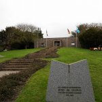 Cementerio alemán, Huisnes Sur Mer Ossuary, Francia.