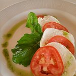 Lunch Caprese Salad at El Mar