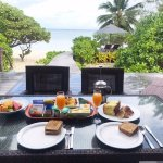 Continental Breakfast delivered to your villa daily