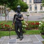 Photo of Charlie Chaplin Statue