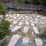 Jews' Gate Cemetery at start of Mediterranean Steps, Gibraltar