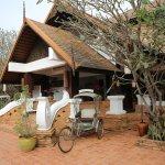 entrance with hotel tuk tuk