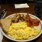 Image shows the American Breakfast - served cold