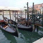 Gondola service in front