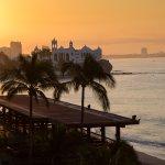 Sunrise over Hotel Playa Terrace