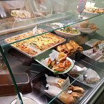 cupboard was nearly bare but was topped up from freshly made food on the premises while there