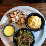 Lunch Chicken Plate with grilled option (includes 2 sides)