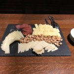 Cheese platter with our wine tasting