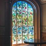 Beautiful Tiffany style window. It is a working window.