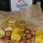 Shrimp and scallop basket