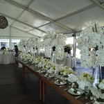 Wedding Tent Table