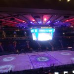 MSG Section 210 Rangers NYE 2017