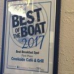 Φωτογραφία: Creekside Cafe & Grill