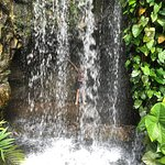 Waterfall that you can pose behind