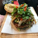 The Vietnamese pork burger