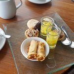 Complimentary afternoon tea