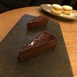 Chocolate tarts at - Serge et le Phoque