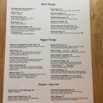 All-day menu