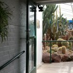 From the humidity controlled tropical garden to cactus dry room.