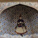 Dwarpala at the entrance of City Palace Jaipur
