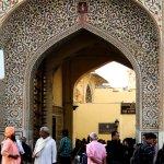 Entrance of City Palace Jaipur