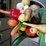 Les légumes frais pour la journée