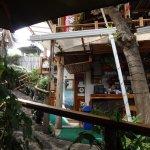 Puerto Ayora, Restaurante Il Giardino, la barra.