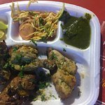 Mouth watering Afghani Chicken right fromm the kitchen of PAL DHABA...with yumm chutney and sala