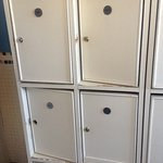 The lockers in the Spa mens changing room are NOT 4 star