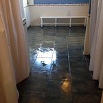 Beware the floor in the Spa changing rooms, they are LETHAL when wet