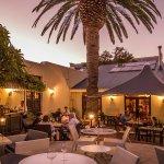 Idyllic setting for alfresco Summer dining