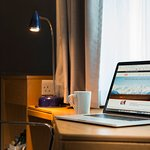 Our room facilities allows you to catch up with some last minute work.