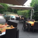 Terrasse extérieure - Service Petit déjeuner
