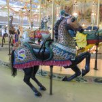 Absolutely gorgeous carousel horse