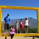 Frame with table mountain