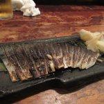 The finished mackerel
