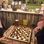Chess Match with Igor (the Owner)