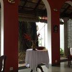 Breakfast/dining area (also has open dining terrace)
